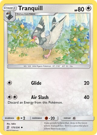 Tranquill (Unified Minds 175/236)