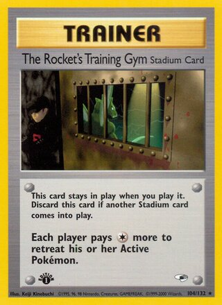 The Rocket's Training Gym (Gym Heroes 104/132)