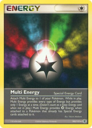 Multi Energy (EX FireRed & LeafGreen 103/112)