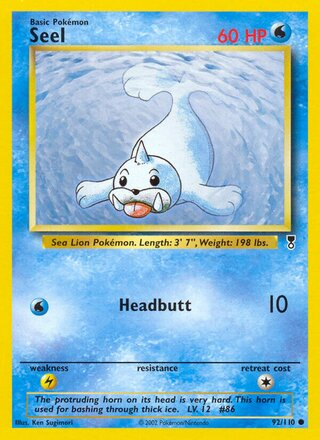 Seel (Legendary Collection 92/110)