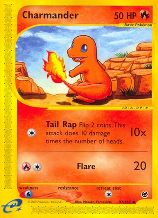 Charmander (Expedition Base Set 97/165)