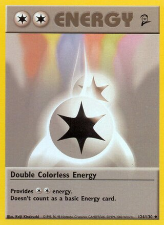 Double Colorless Energy (Base Set 2 124/130)