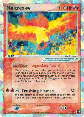 Moltres ex (EX FireRed & LeafGreen 115/112)