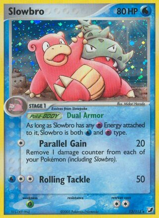 Slowbro (EX Unseen Forces 13/115)