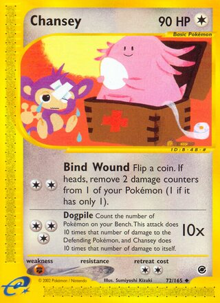 Chansey (Expedition Base Set 72/165)