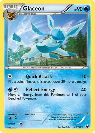 Glaceon (Dark Explorers 30/108)