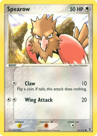 Spearow (EX FireRed & LeafGreen 81/112)