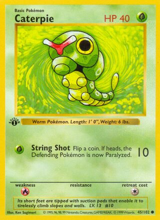 Caterpie (Base Set 45/102)