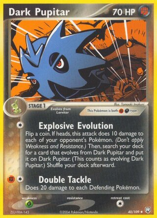 Dark Pupitar (EX Team Rocket Returns 40/109)