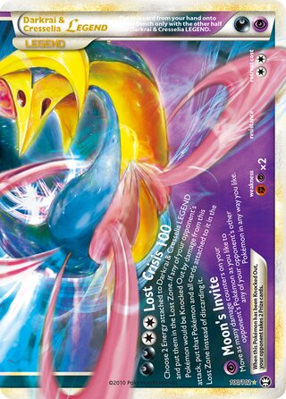 Darkrai & Cresselia LEGEND (Triumphant 100/102)