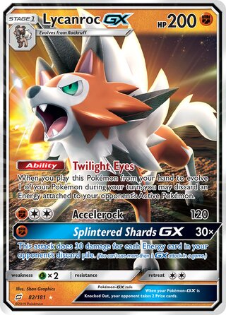 Lycanroc-GX (Team Up 82/181)