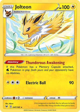 Jolteon (Vivid Voltage 047/185)