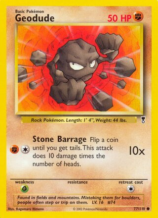 Geodude (Legendary Collection 77/110)