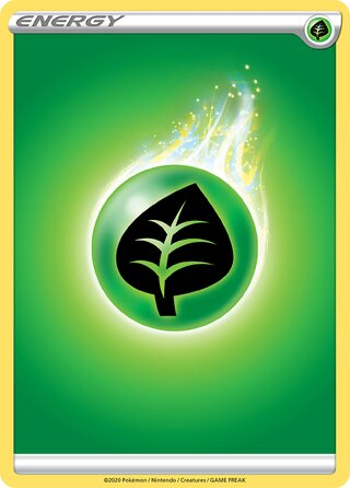 Grass Energy (Sword & Shield Energies — (No. 001))