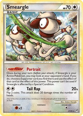Smeargle (Call of Legends 21/95)