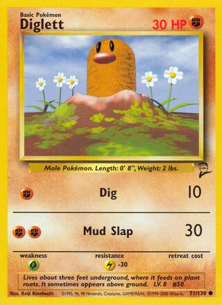 Diglett (Base Set 2 71/130)