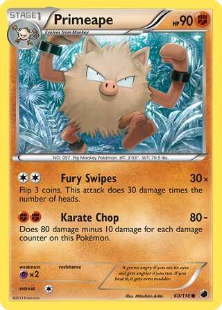 Primeape (Plasma Freeze 60/116)