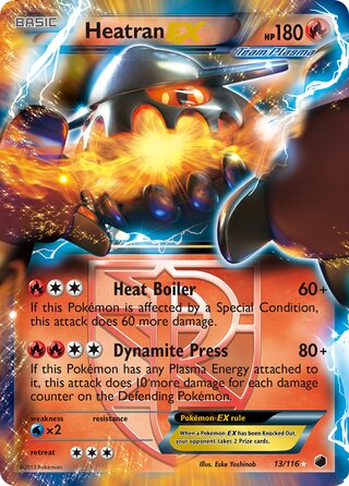 Heatran-EX (Plasma Freeze 13/116)