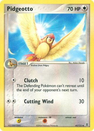 Pidgeotto (EX FireRed & LeafGreen 45/112)