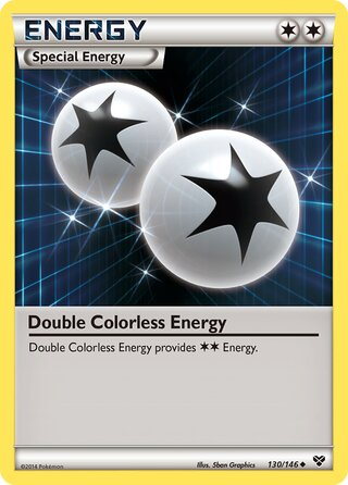 Double Colorless Energy (XY 130/146)