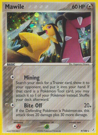Mawile (EX Crystal Guardians 9/100)