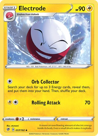 Electrode (Rebel Clash 057/192)