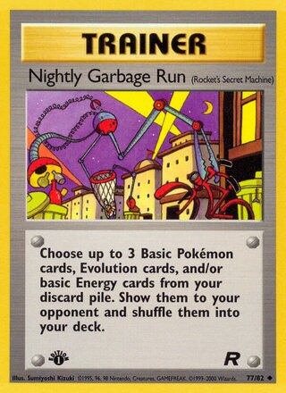 Nightly Garbage Run (Team Rocket 77/82)