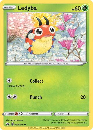 Ledyba (Chilling Reign 004/198)