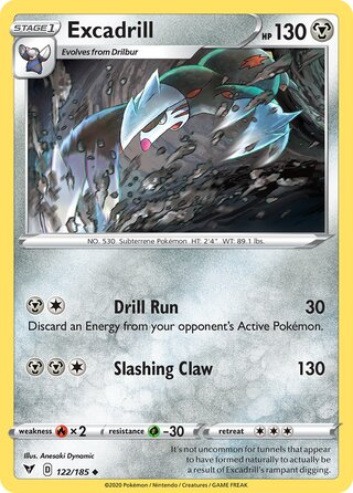 Excadrill (Vivid Voltage 122/185)