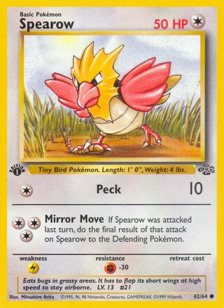 Spearow (Jungle 62/64)
