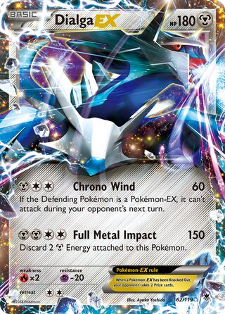 Dialga-EX (Phantom Forces 62/119)