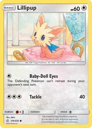 Lillipup (Cosmic Eclipse 174/236)