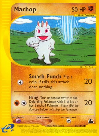 Machop (Skyridge 74/144)