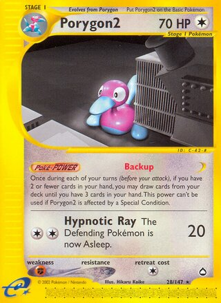 Porygon2 (Aquapolis 28/147)
