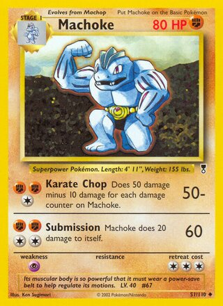 Machoke (Legendary Collection 51/110)